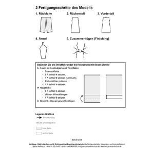 """Anleitung für Mittelstricker - Kleid """"indian summer"""""""