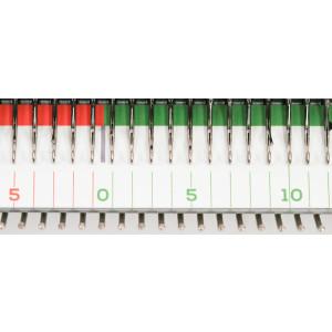 Nadelzählfolie für Feinstricker (4,5 mm)