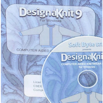 DK 8 Handstrick -> DesignaKnit 9 Maschine Standard