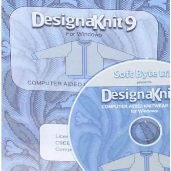 DK 8 Handstrick -> DesignaKnit 9 Maschine Pro