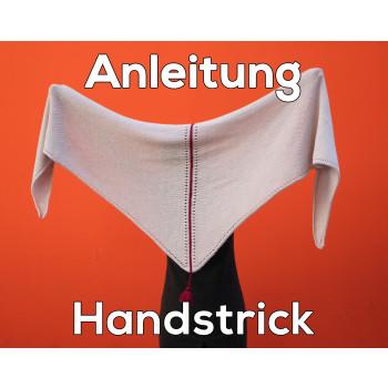 Anleitung zum Handstricken - Tuch Almstrick 1