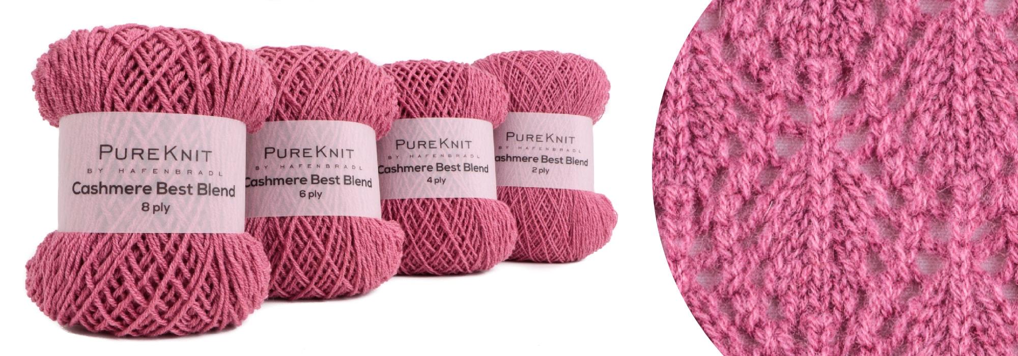 Auch für Handstricker - PureKnit